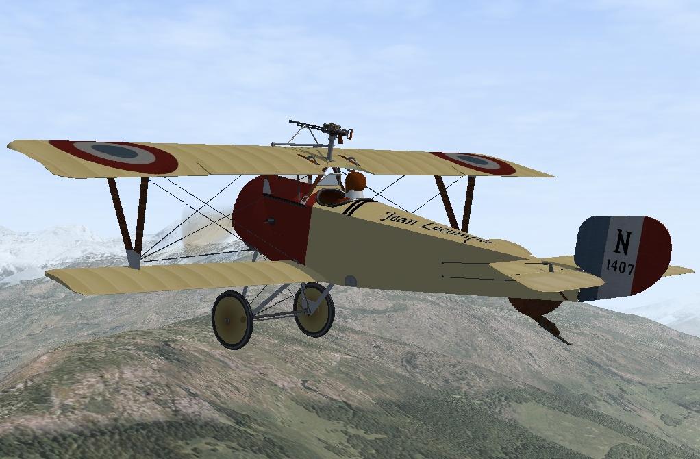 Jean Lecompte Nieuport 11