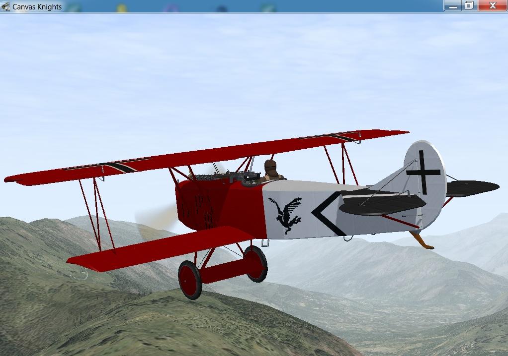 Raben Jasta 18 Fokker D7