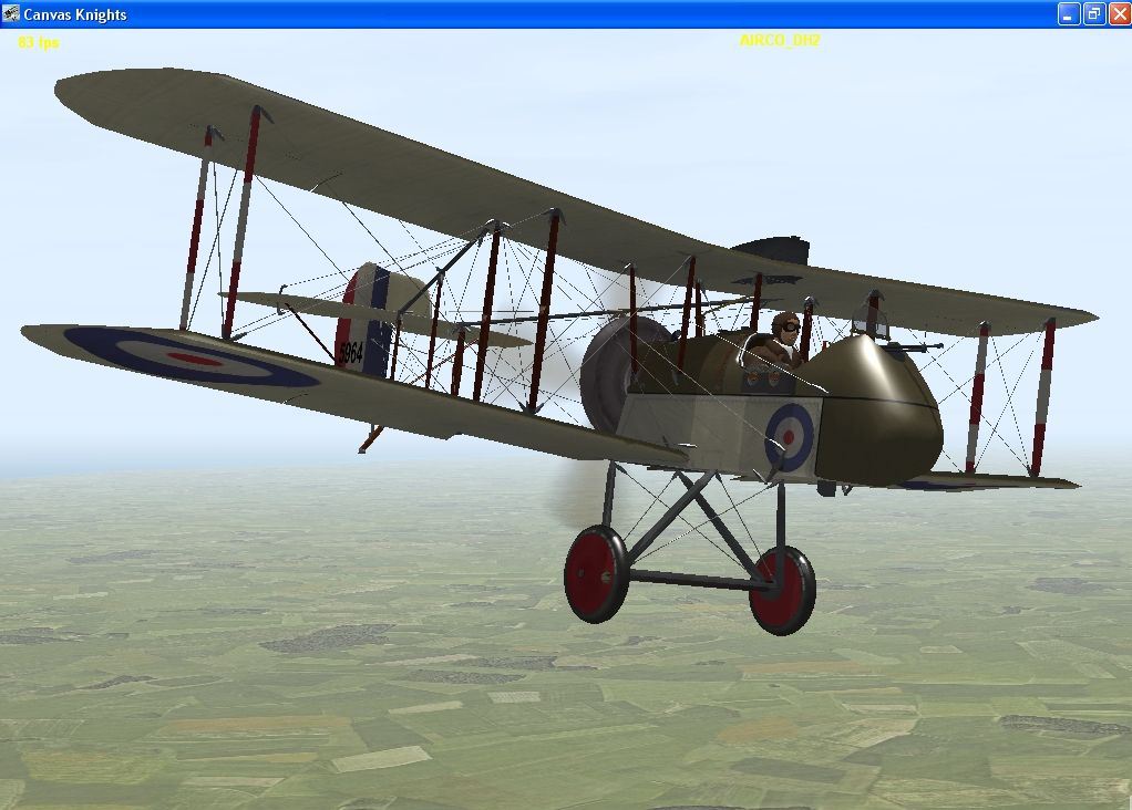 DH 2 On Patrol Missions