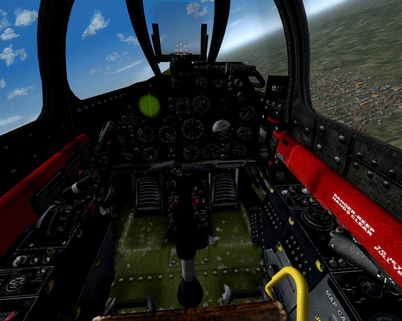 "F-94C ""Starfire"" cockpit"