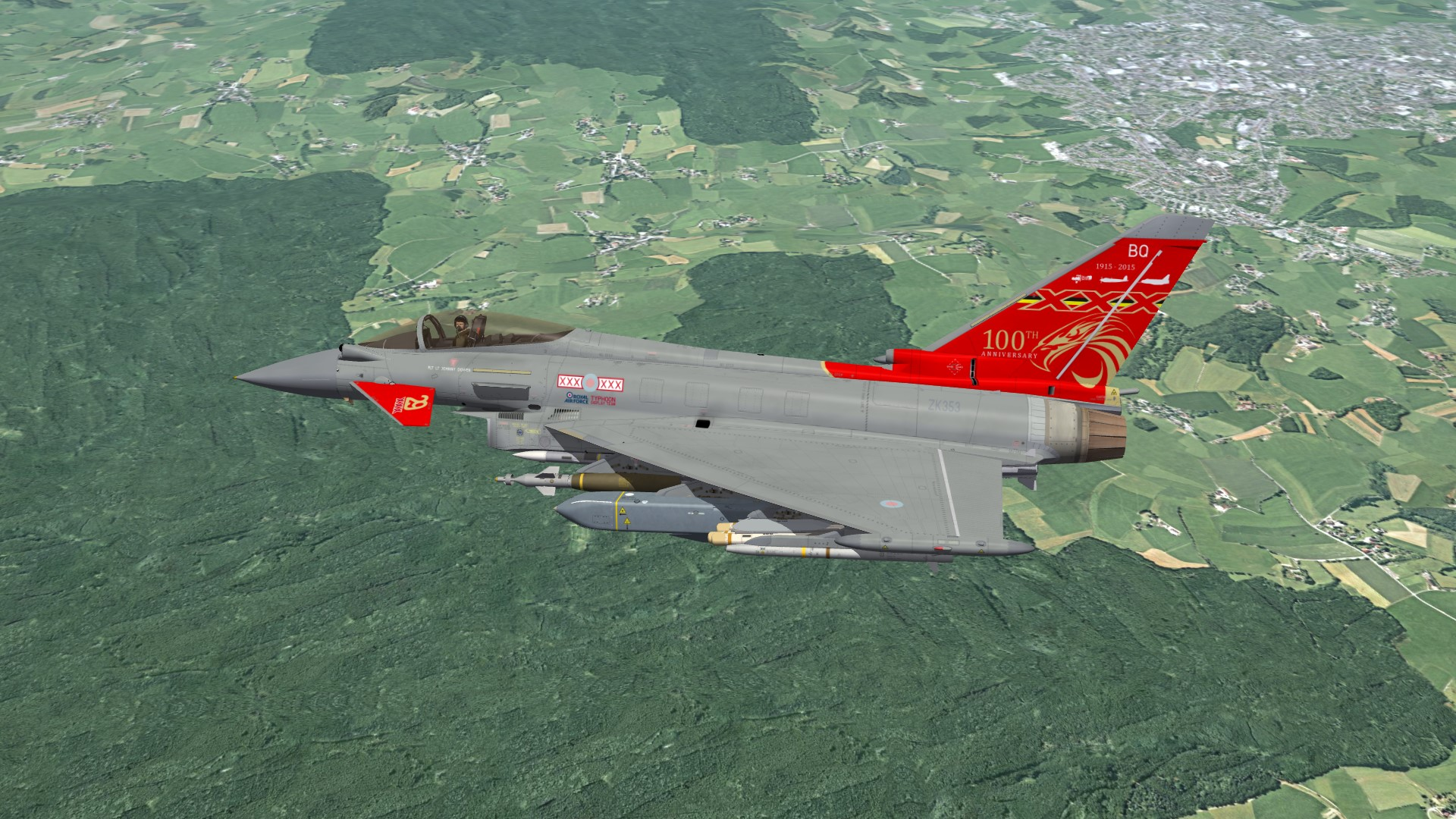 "EF-2000 Eurofighter Typhoon ""BETA"" Pack"
