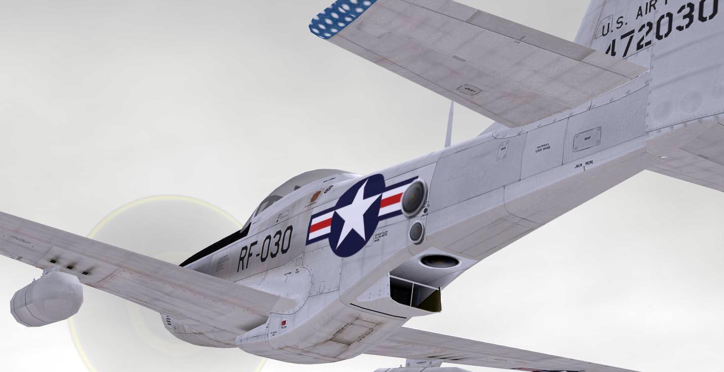 TW RF-51D for Korean War