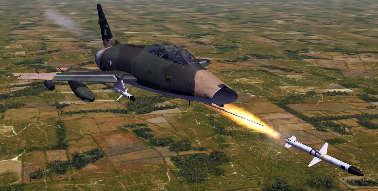 SF2 YAP F-100F Fuel Probe Shadow Line Fix
