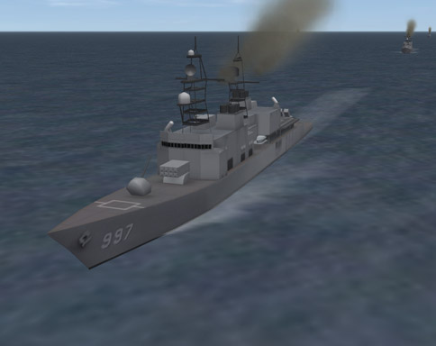 Texture  for Spruance Class Destroyer