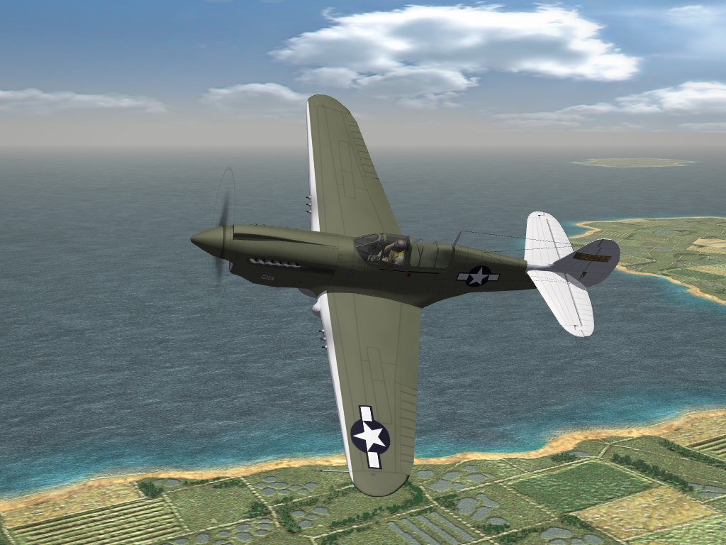 SF2 WW2 PTO P-40N, USAAF (SWPA) Skinpak