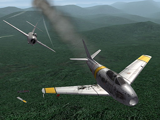 Damage overlay textures for WOI/SF2 addon Aircraft