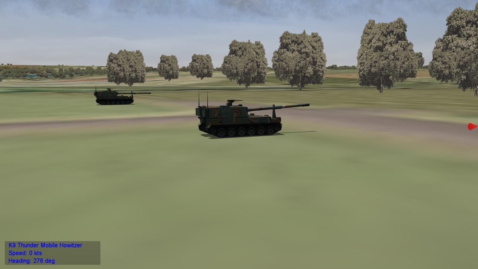 Republic of Korea Army Vehicle Pack