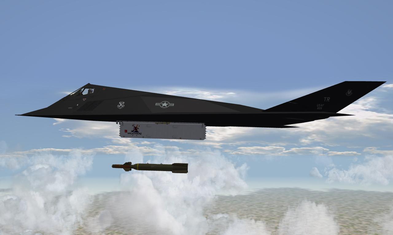 Lockheed F-117A Nighthawk for SF2