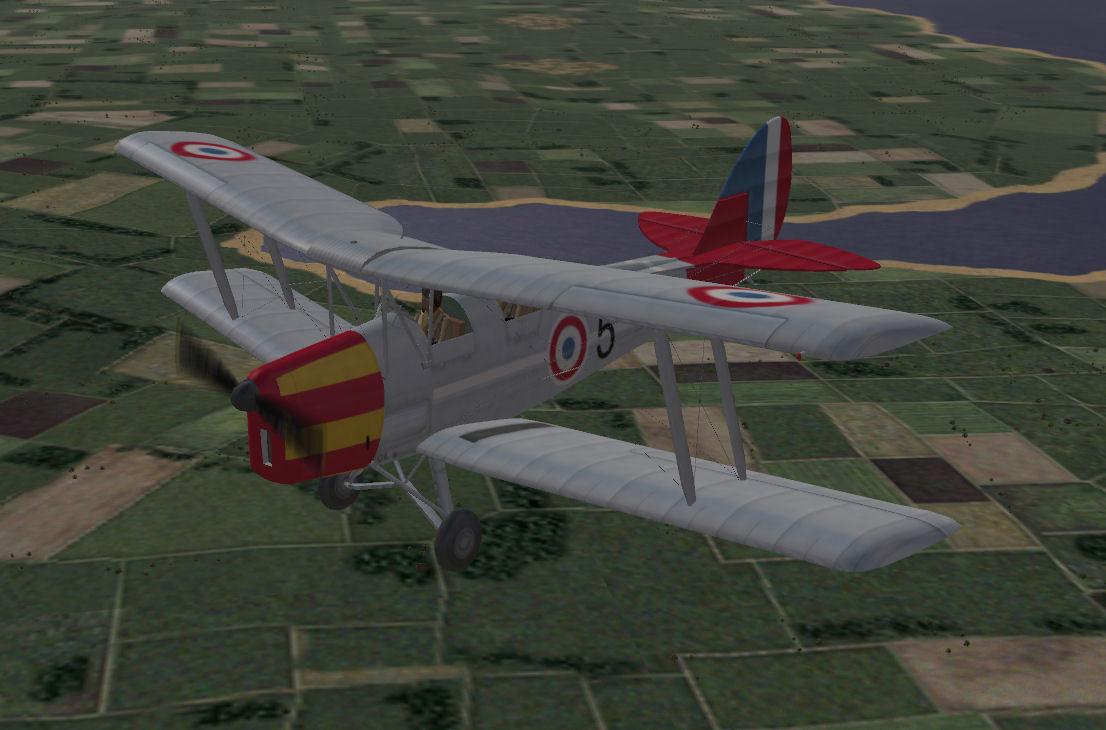 Vichy Tiger Moth