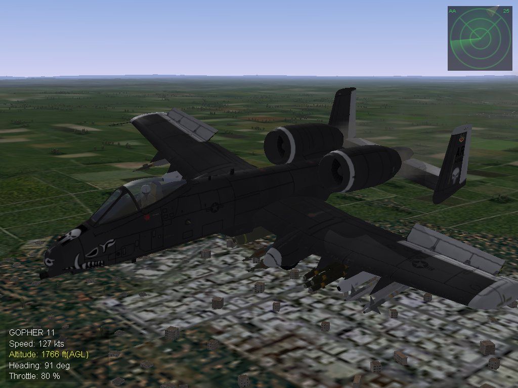 Fictional A-10A 316th Punshers