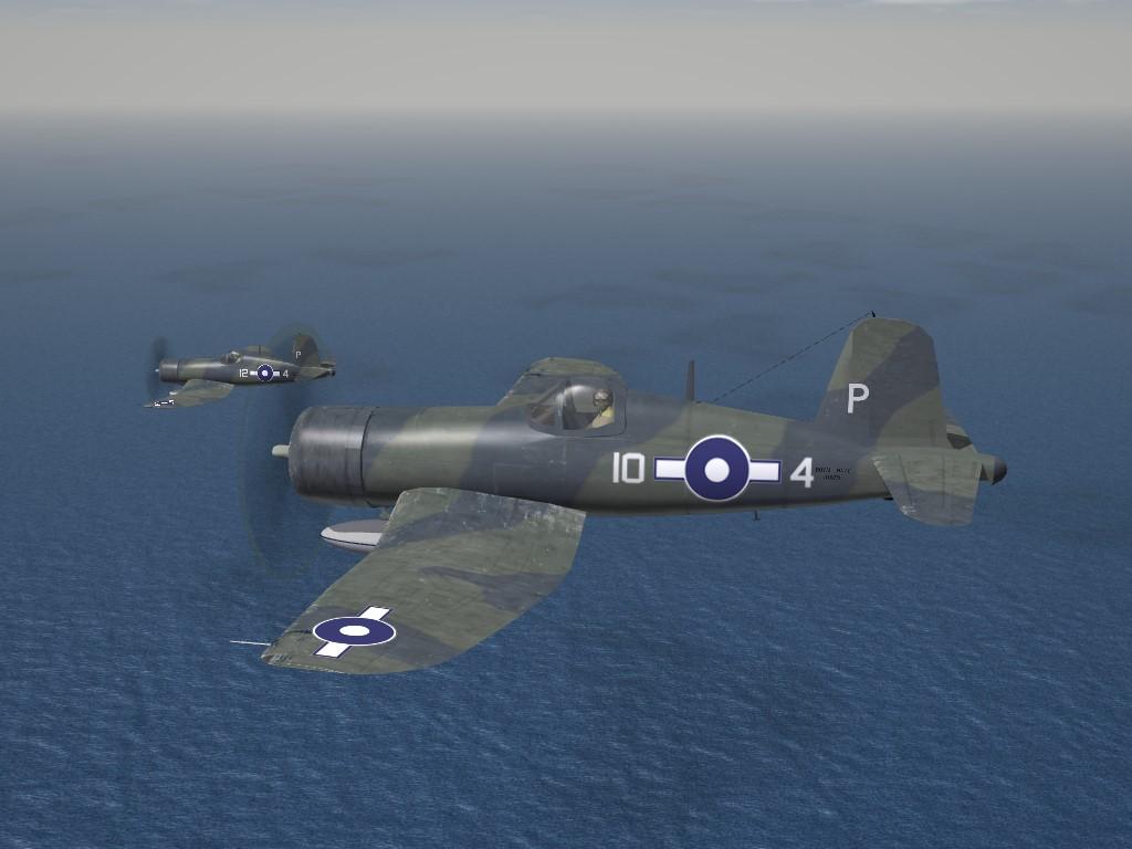 SF2 WW2 RN FAA Corsair Mk.II 1836 NAS (BPF) Skin Pak