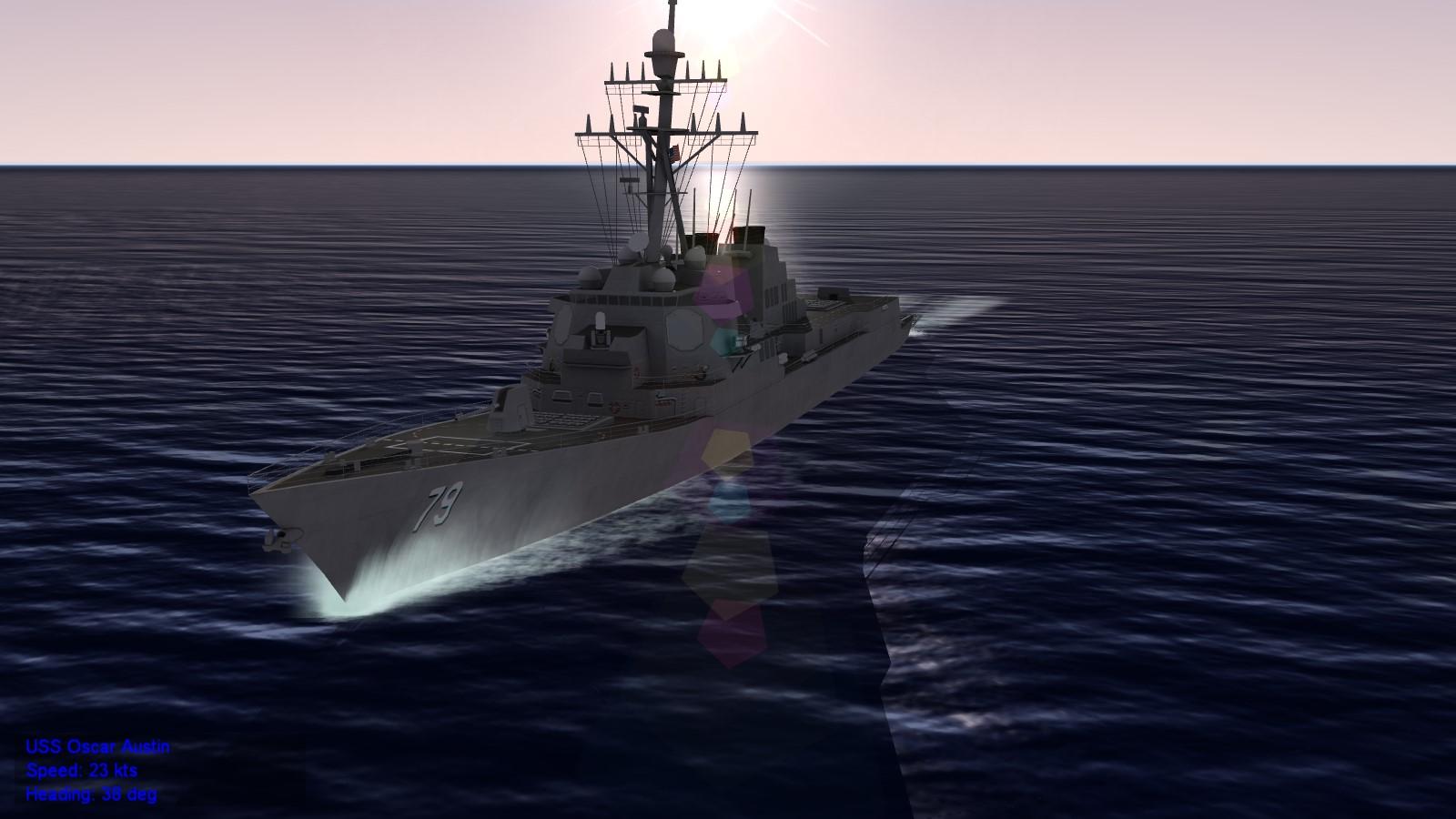 DDG-79 Arleigh Burke class Aegis destroyer (Flight IIA)