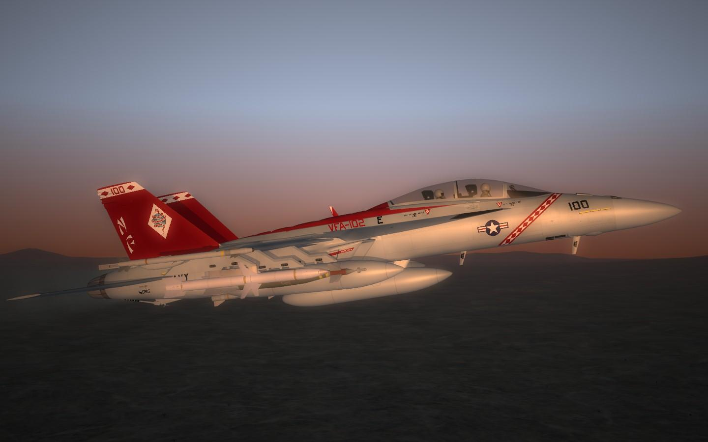 [Redux]SF2 FA-18F Super Hornet VFA-102 Diamandbacks