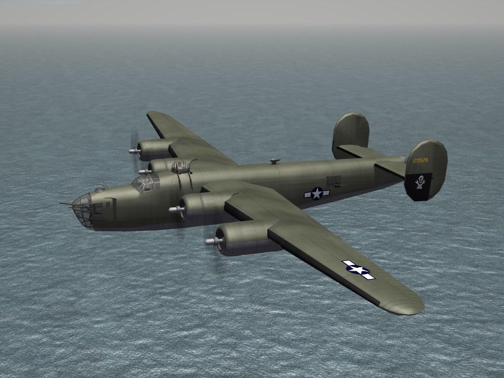 SF2 WW2 PTO B-24D 319th BS, 1943-44 Skin/Decals Pak