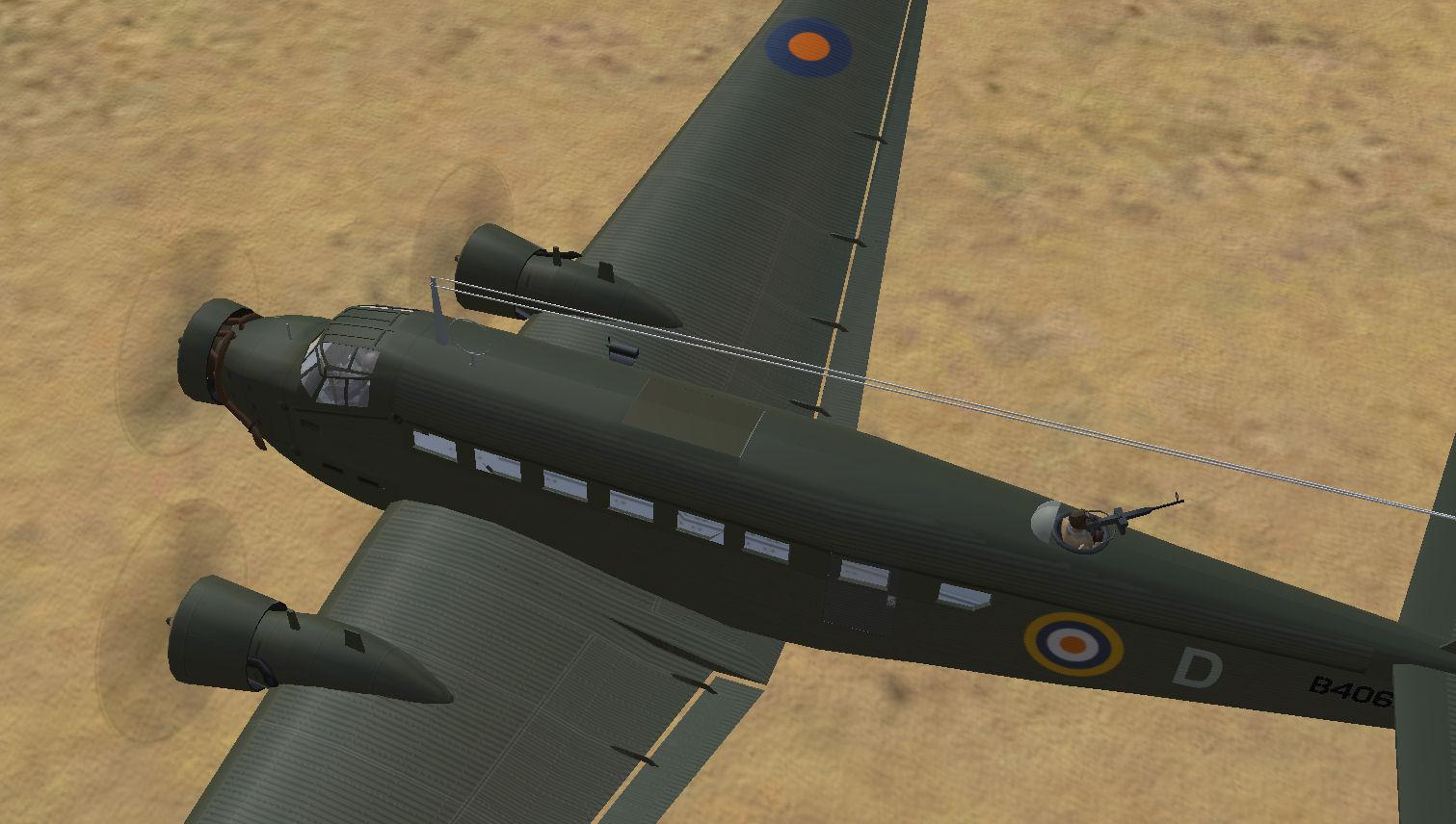 Ju-52/3m ge (SAAF)