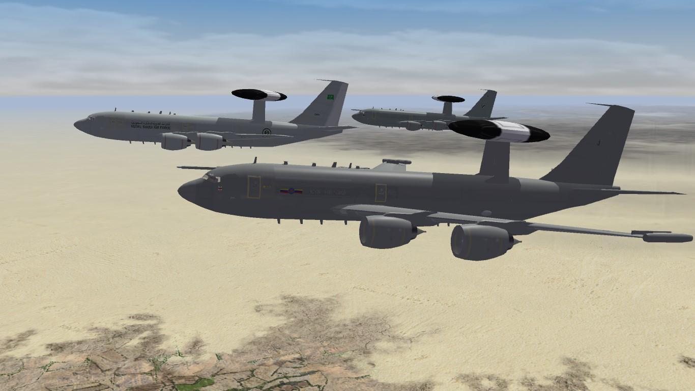 CFM powered E-3 Sentry Pack