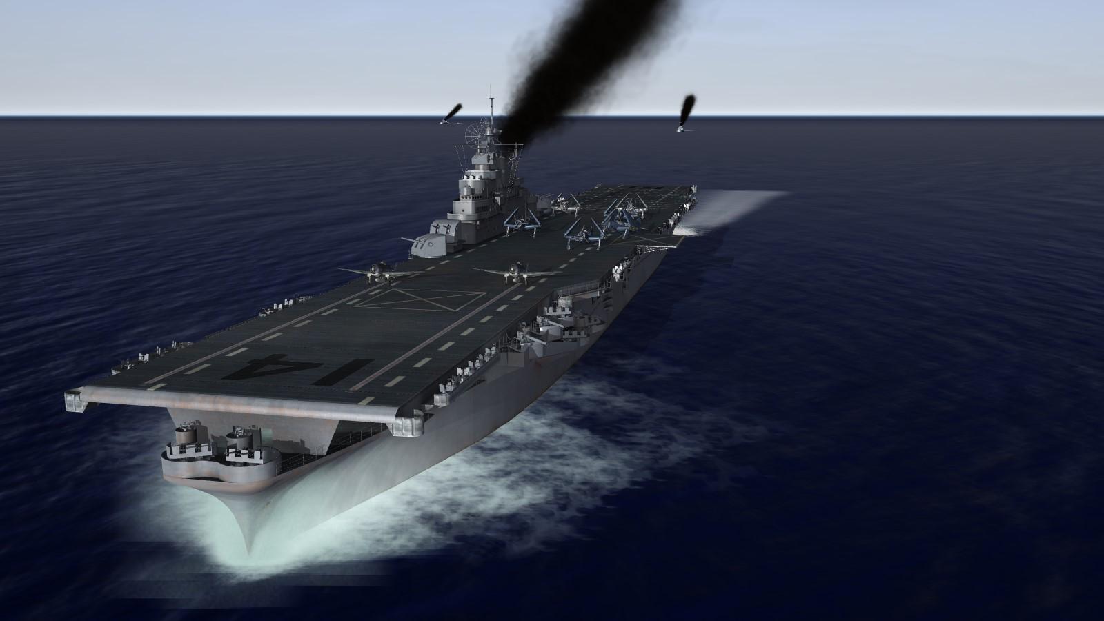 Essex class (long-hull) aircraft carrier