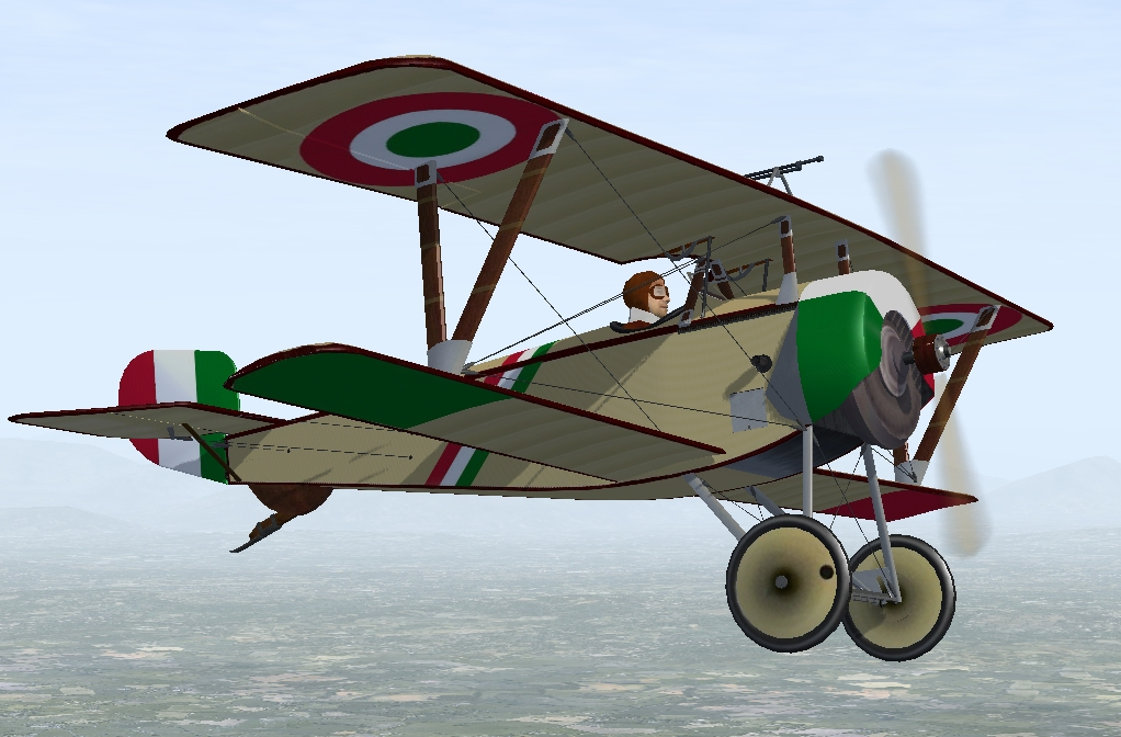 Nieuport 11 Italian
