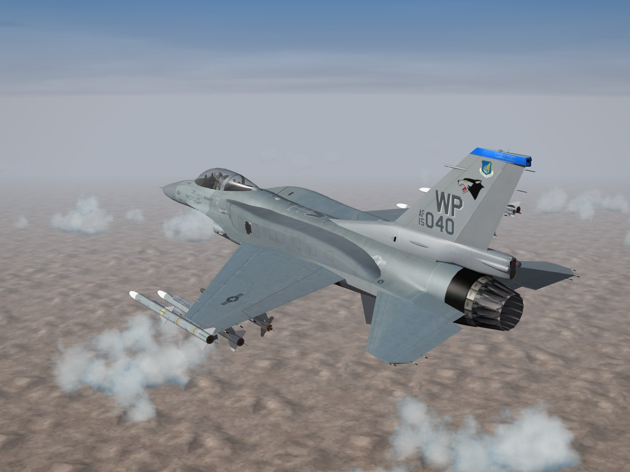 SF2 F-16C/D Block 60 Fictional USAF Squadrons.