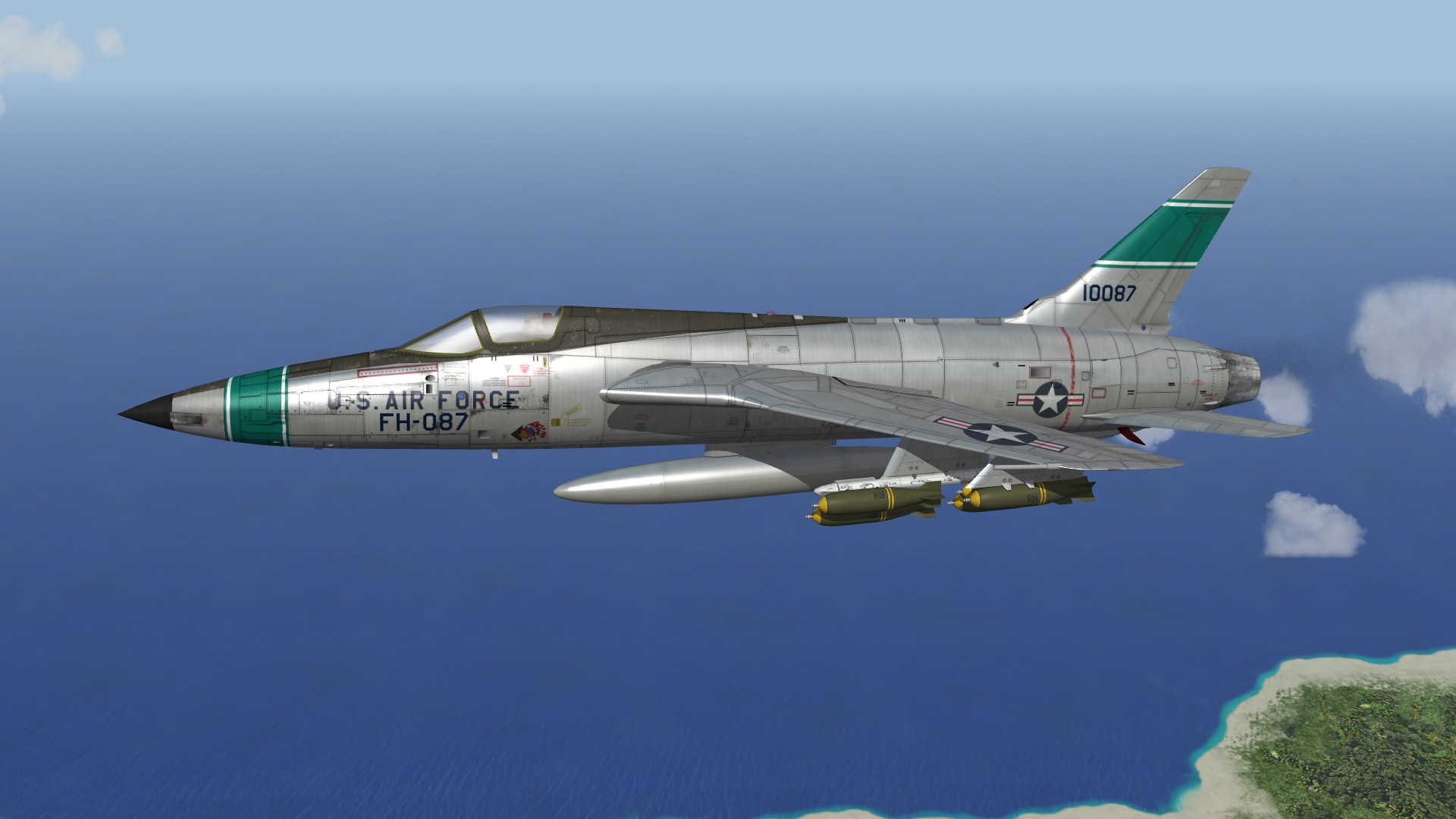 F-105B Thunderchief (Stand in)