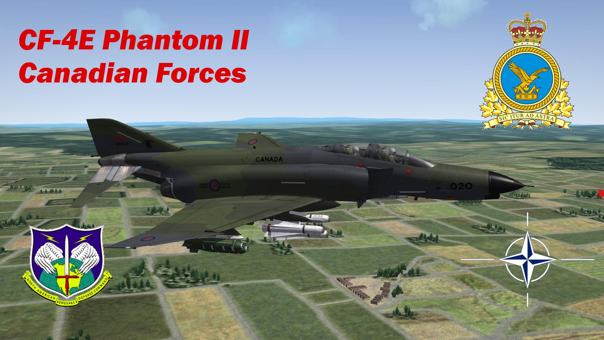 CF-4E Phantom II - Canadian Forces - Part 2