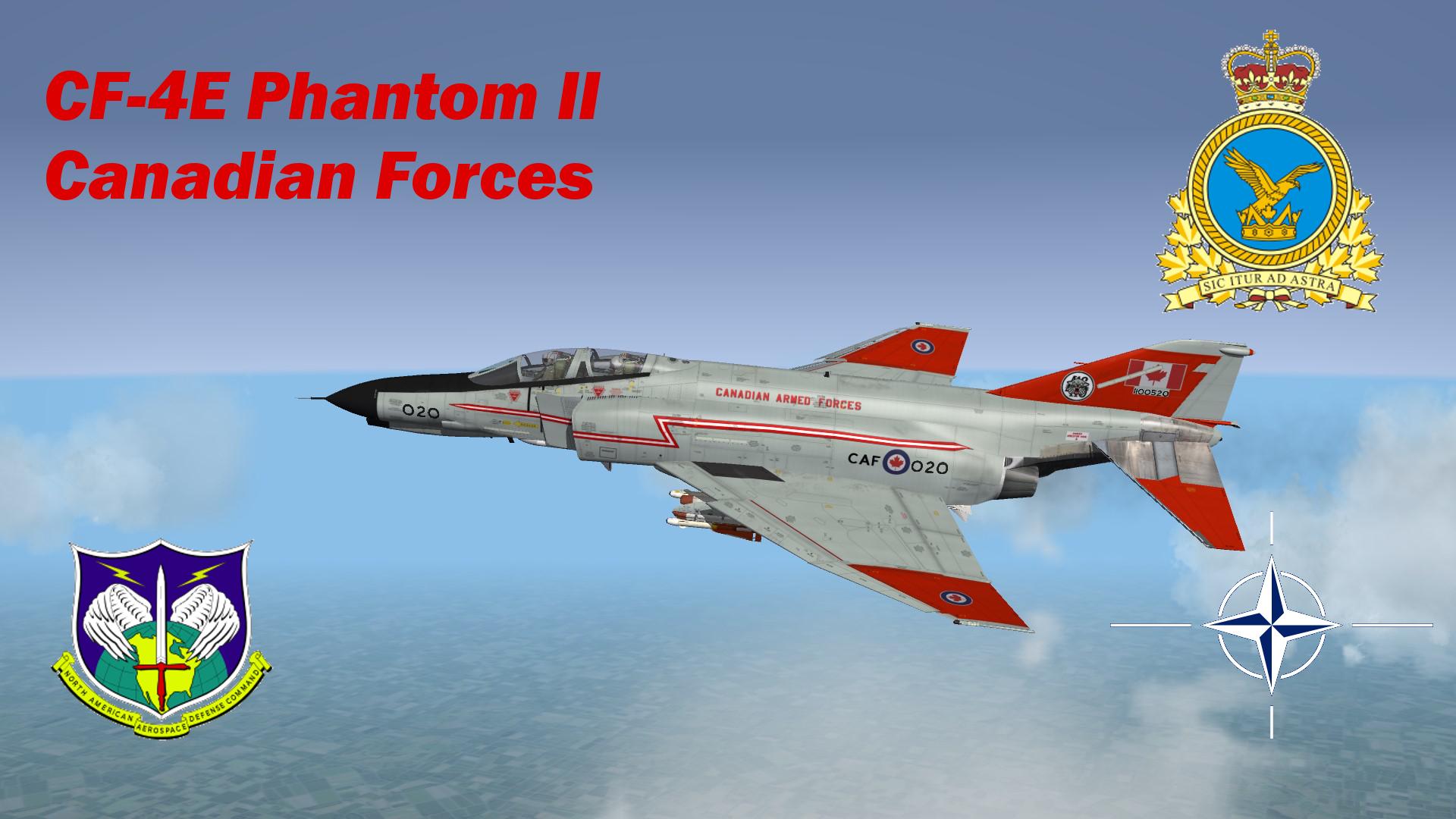 CF-4E Phantom II - Canadian Forces - Part 1