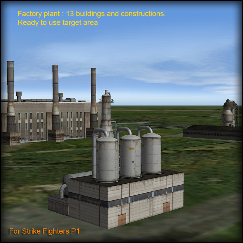 Factory Plant for StrikeFighters
