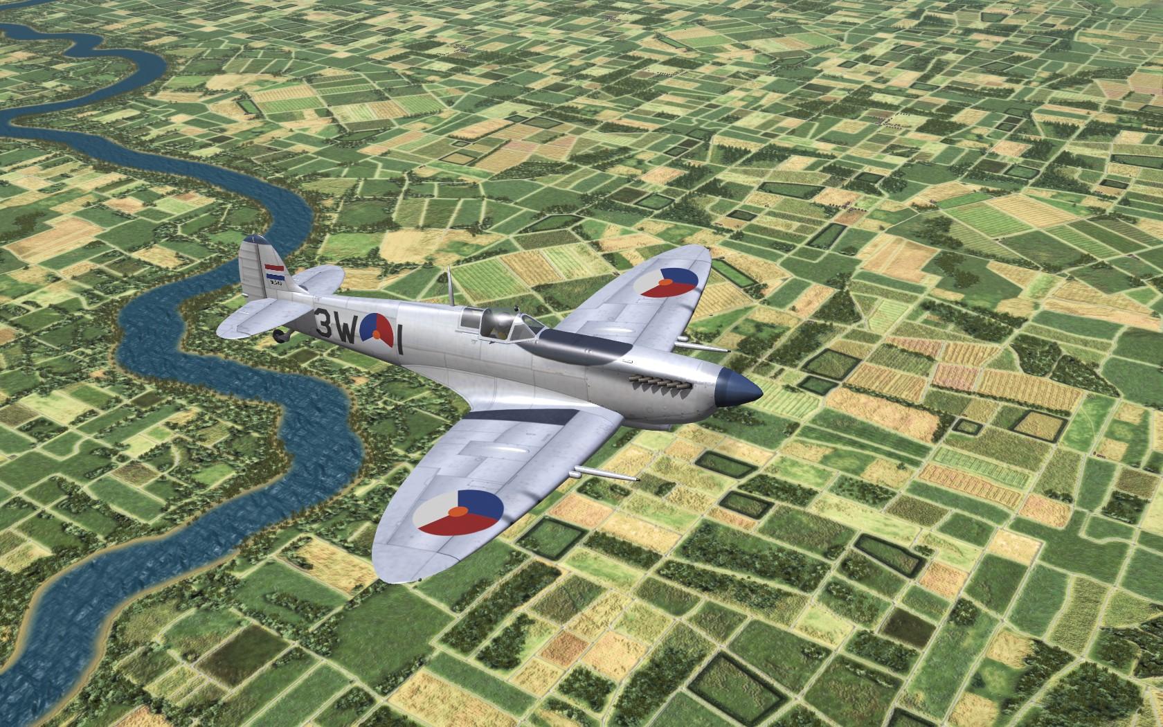 Spitfire LF.IXC/E Post War collection