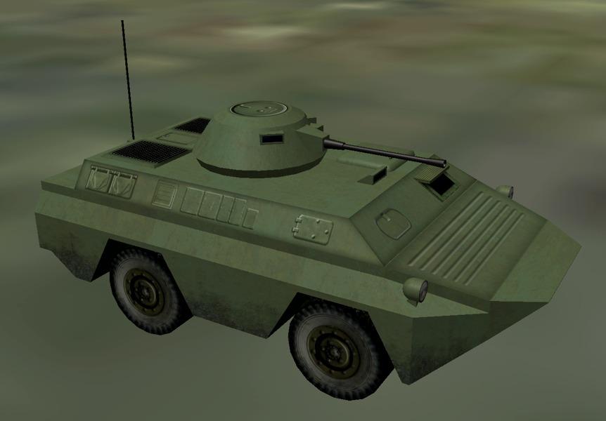 WDR combat vehicle