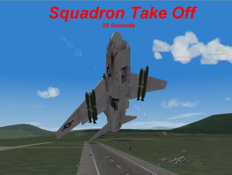 Fast Squadron Take Off