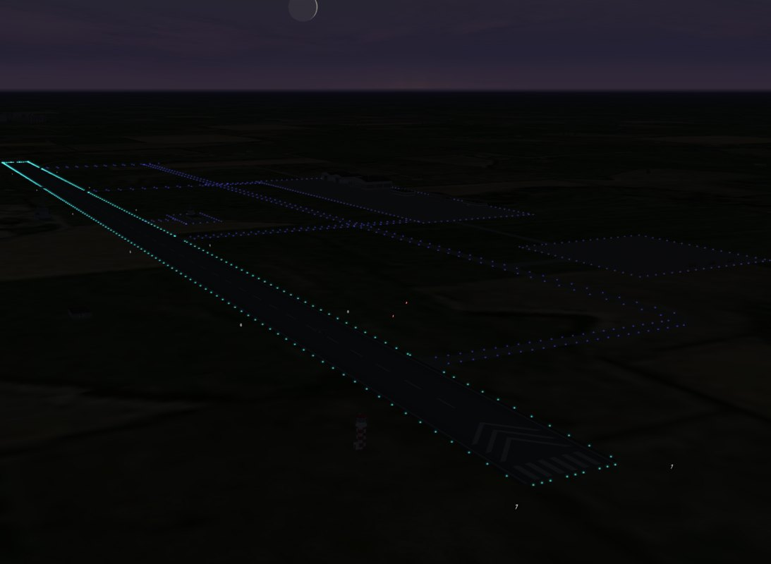 Night lights for Airfield Radom ini file
