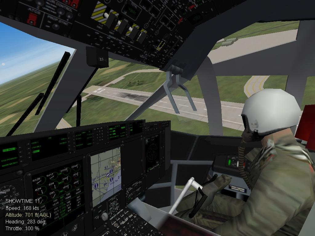 G-222 Argentine Army skin and relocation cockpit