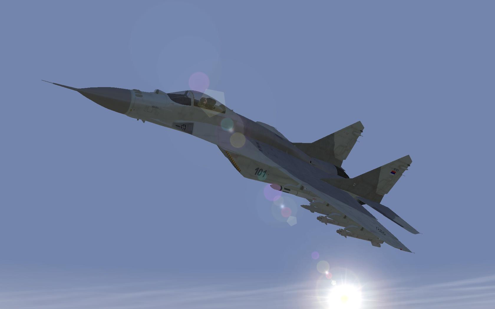 [Semi-Fictional] MIG-29M2S Serbian AF