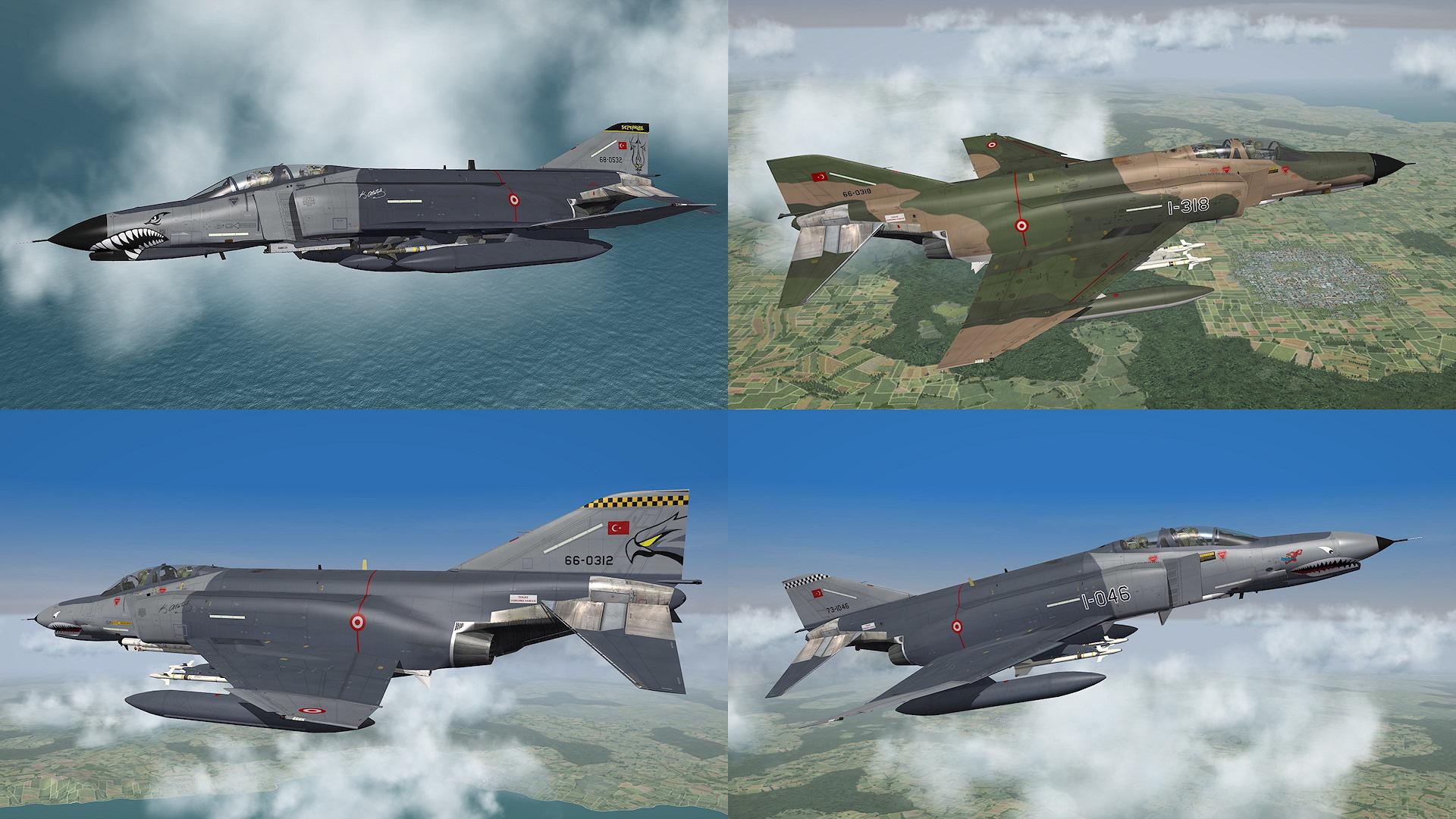 F-4E TuAF pack