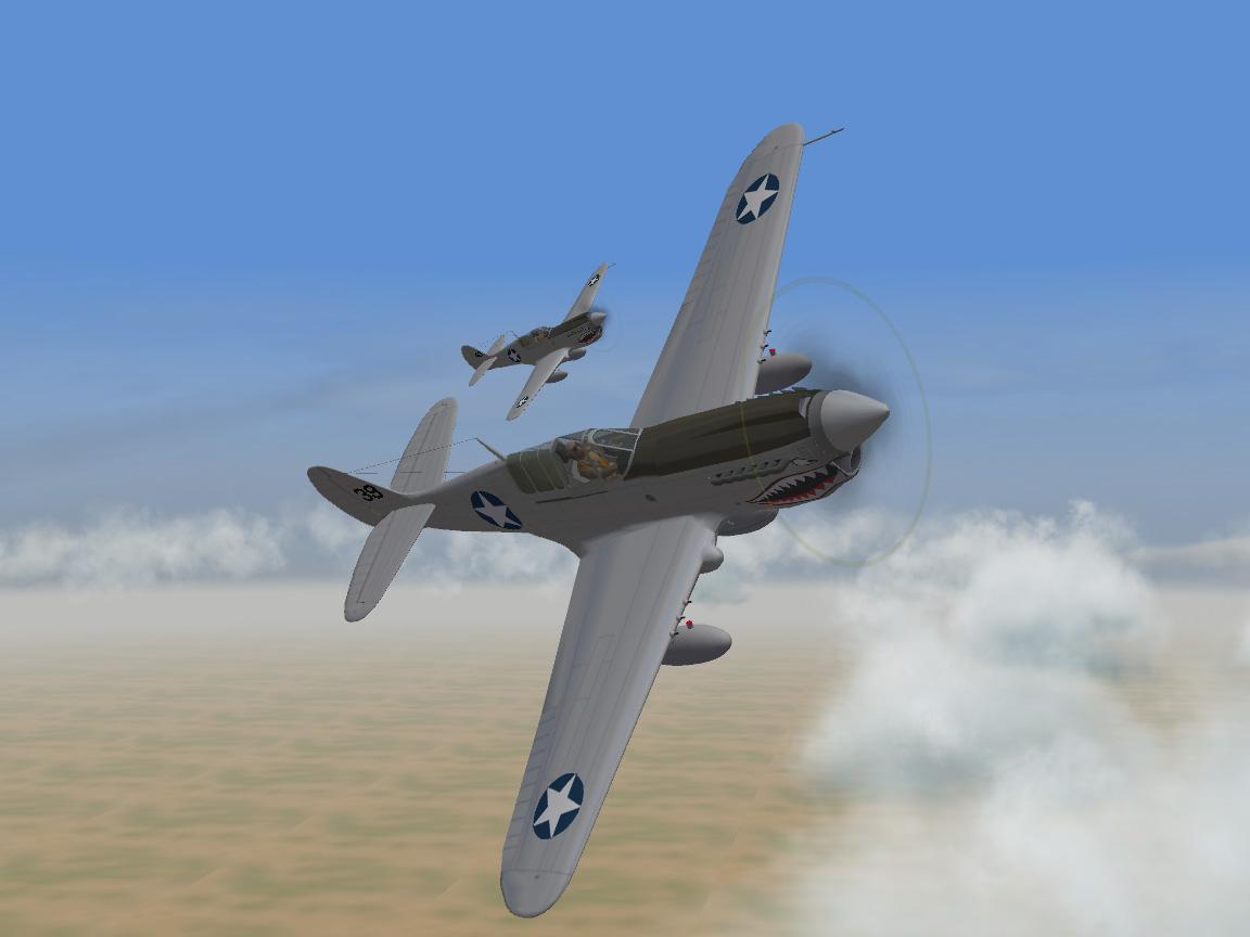 P-40N-20-CU Warhawk