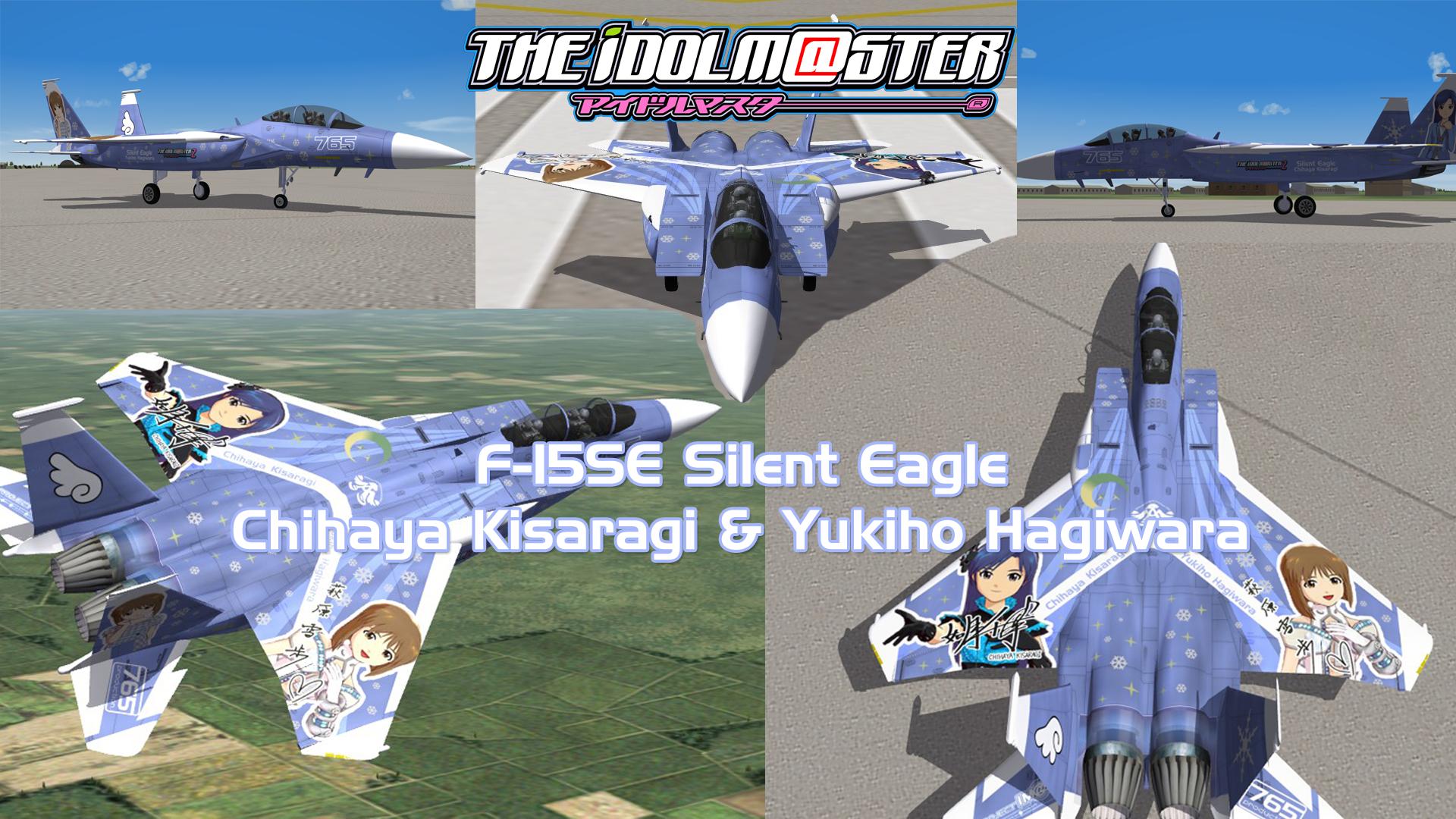 F-15SE Im@s Chihaya X Yukiho