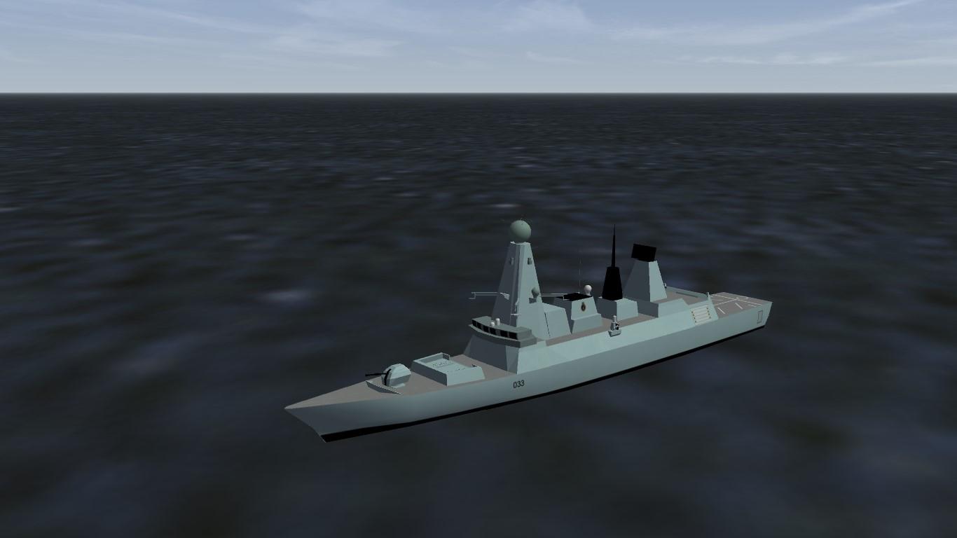 Type 45 Daring Class