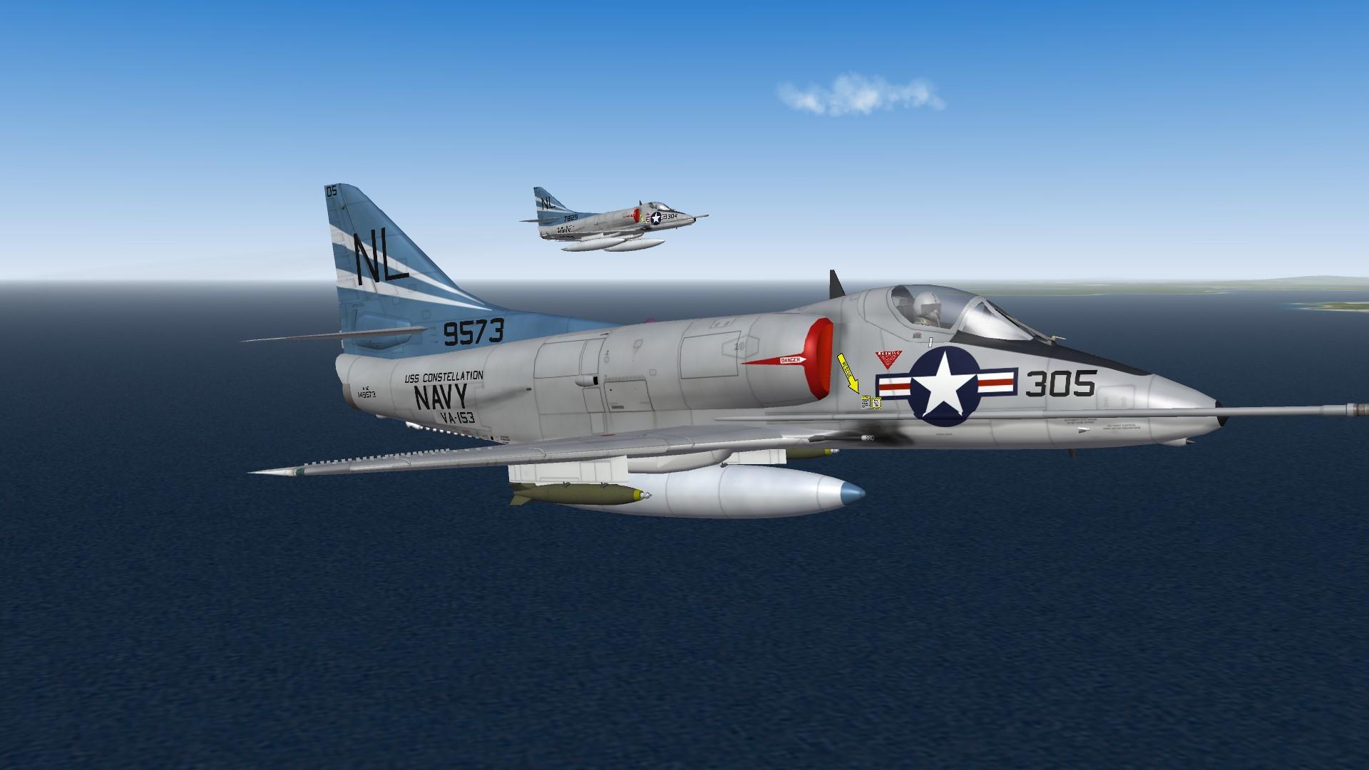 SF2 A-4C(65) VA-153 'Blue Tail Flies' 1966
