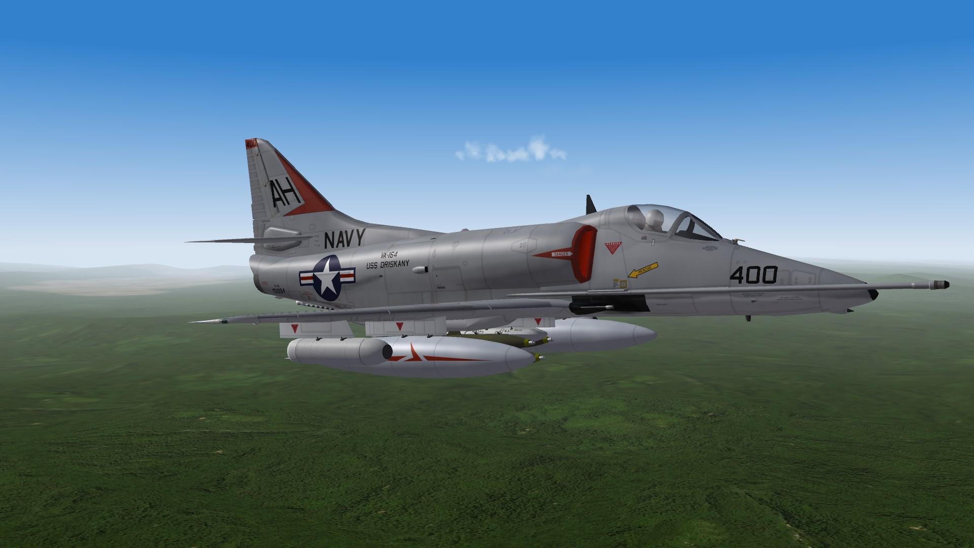 SF2 A-4E(65) VA-164 'Ghost Riders' 1967
