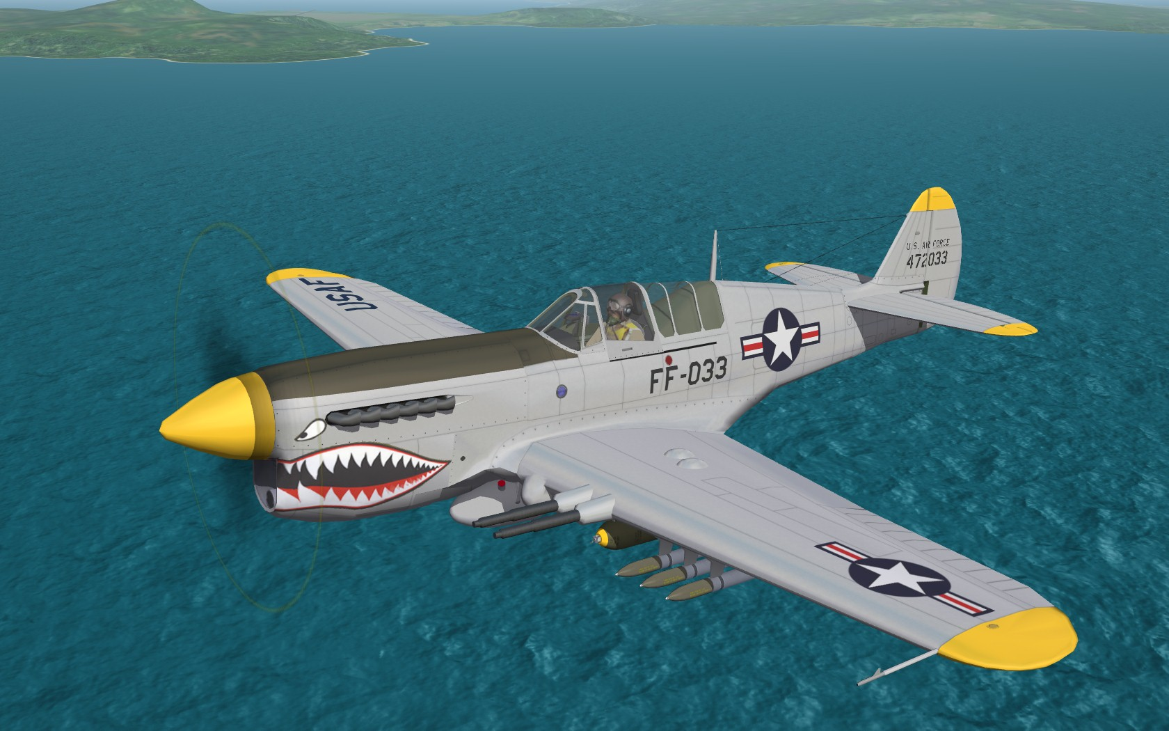 P-40S SuperHawk SF2 ('What If')
