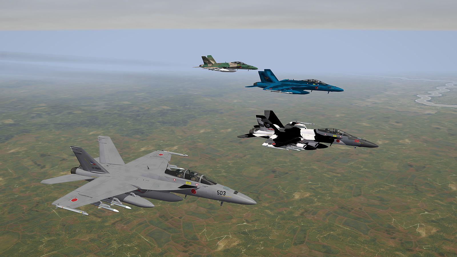 [Renewed] Boeing/Mitsubishi FA-18FJ Super Hornet
