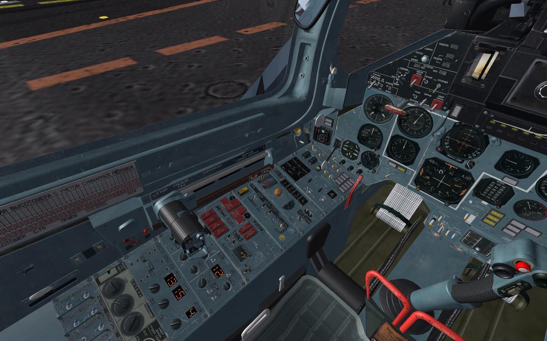 Sea flanker cockpit