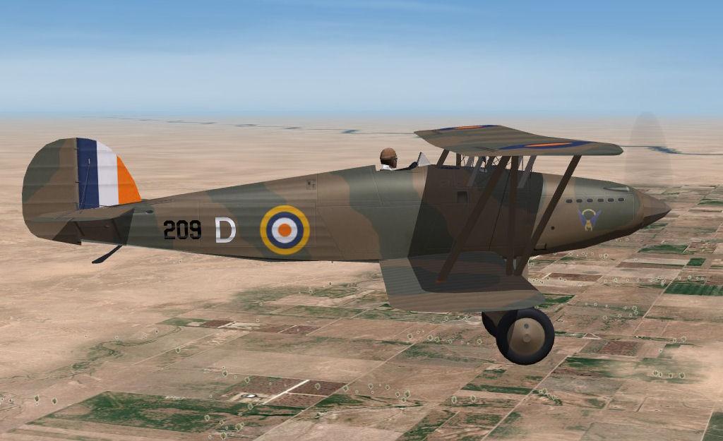 Hawker Fury MkII - SAAF