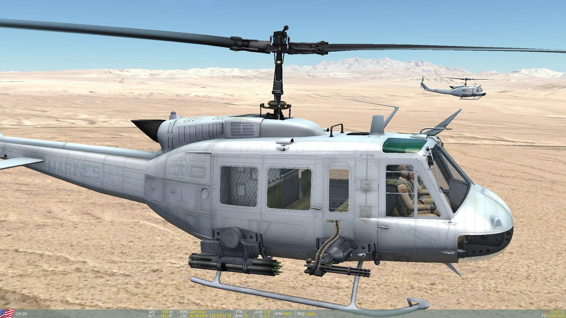 """UH-1 USMC HMLA-269 """"Gunrunners"""" Skin Pack"""