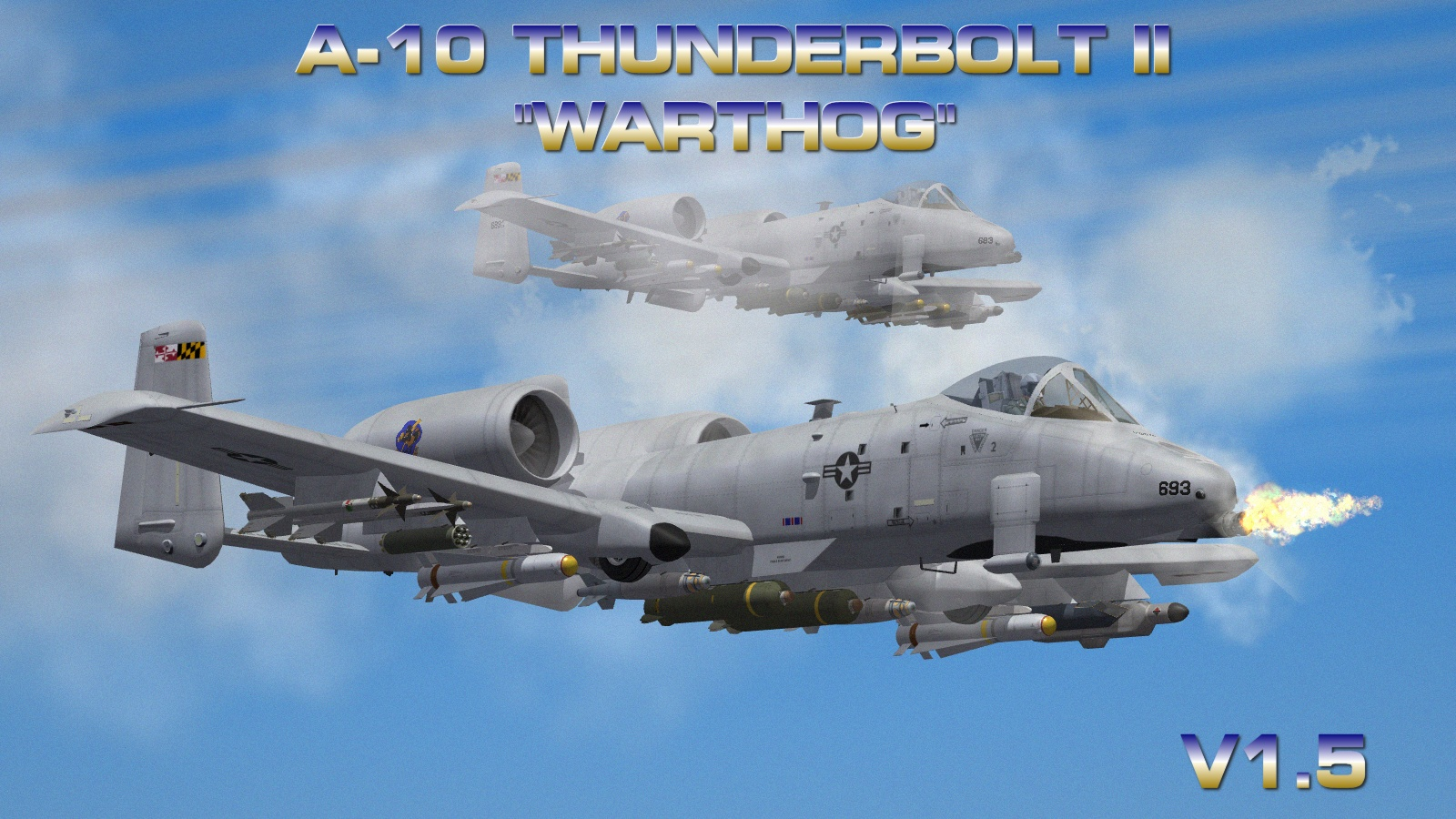 A-10A and C Thunderbolt II