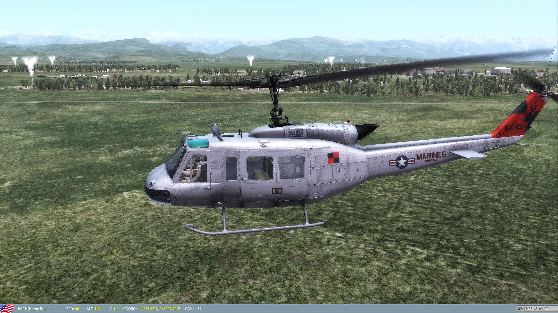 "UH-1 USMC HMLA-167 ""Warriors"" Skin Pack"