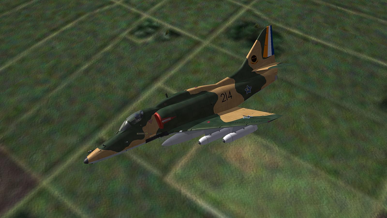 [Fictional] Douglas A-4FZ for STRIKE FIGHTERS 2