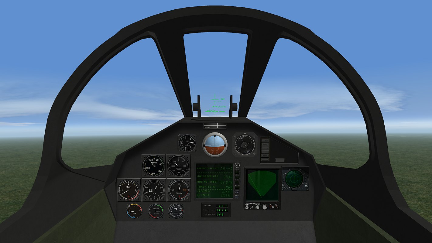 Experimental cockpit for ANY aircraft