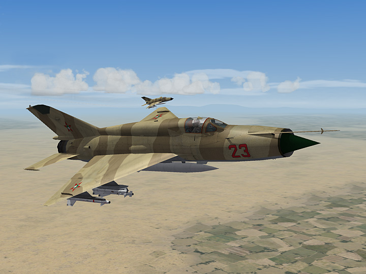 Mercenary Sand Skin for MiG-21MF Fishbed (fictional)