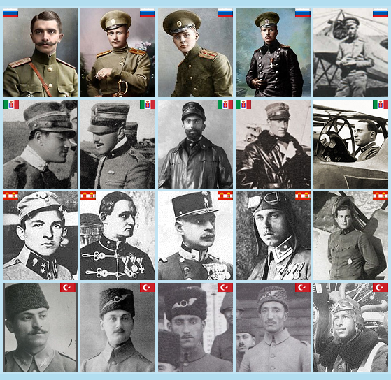 WW1 Pilots Pack - Beyond the Western front